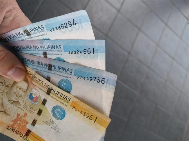 フィリピンペソの新札
