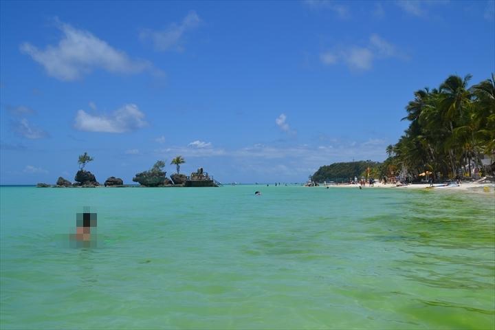 ボラカイ島の4月のアオコ(4)
