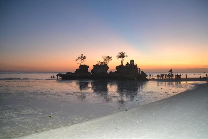 ボラカイ島の5月のサンセット(4)