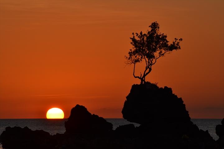 ボラカイ島の5月のサンセット(7)