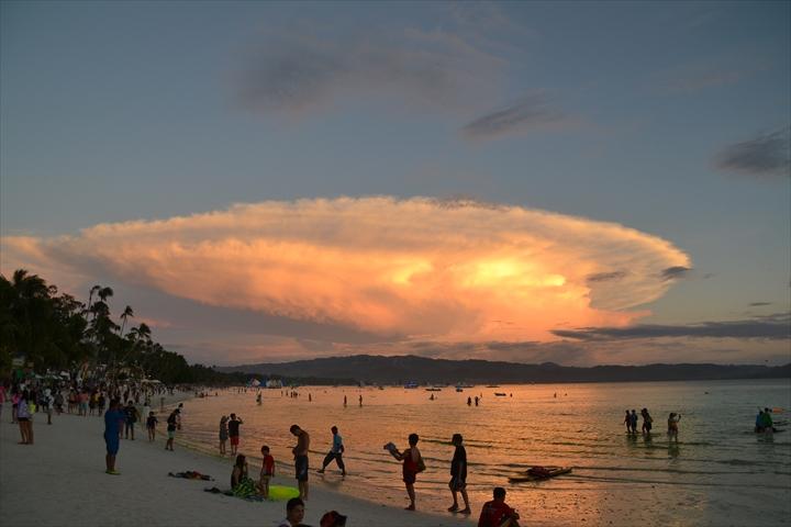 ボラカイ島の5月のサンセット(10)