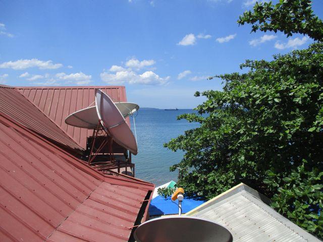 パームツリーリゾートの部屋からの眺め