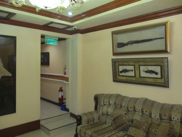 パームツリーリゾートの廊下の様子
