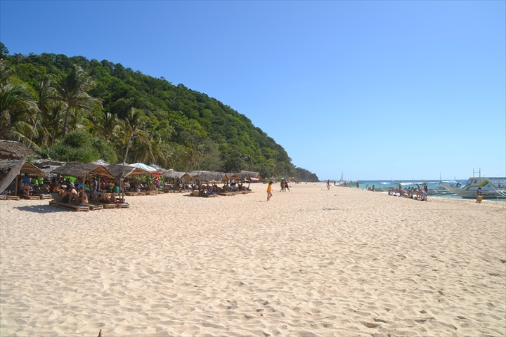 2016年5月:ボラカイ島のプカシェルビーチの様子(1)