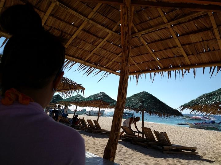 2016年5月:ボラカイ島のプカシェルビーチの様子(4)