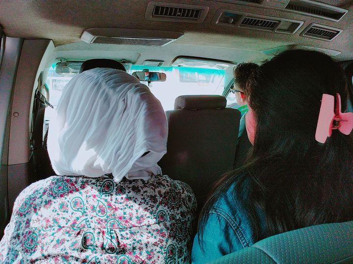ワゴンタクシーでダオからマニラのターミナル3へ
