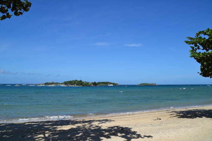 ランチ場所のビーチ