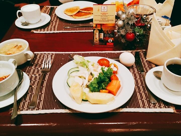 ヘリテージホテル(朝食ビュフェ)