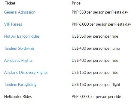 Philippine International Hot Air Fiesta