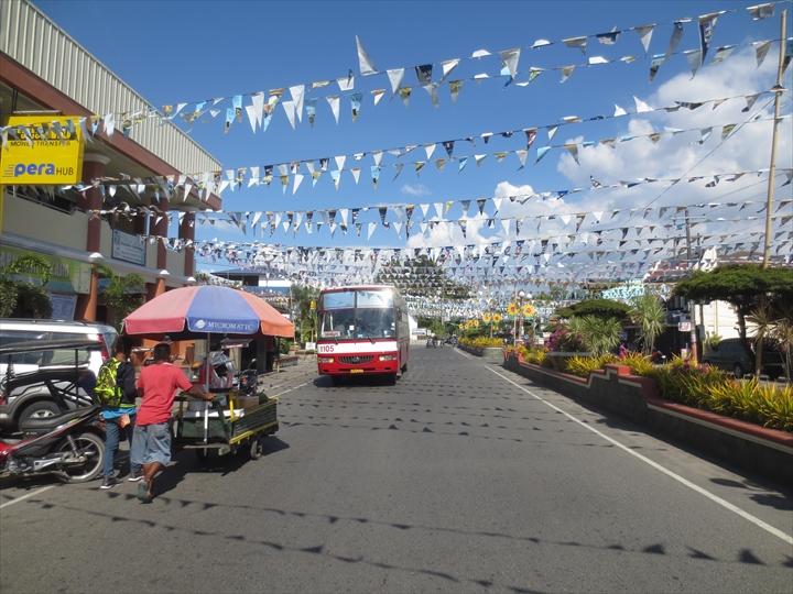 フィリピンのプンダキットビーチへ(サンアントニオでバスの乗換え1)