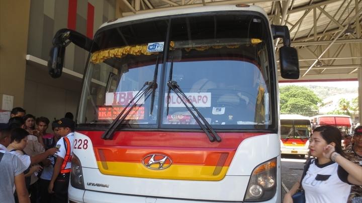 2017年GWのフィリピンの旅(オロンガポからイバ行きのバスへ)