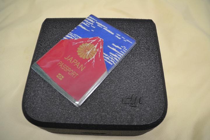 DJI SPARK (ケースとパスポート)