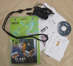 HOLUX M-241 付属品イメージ写真