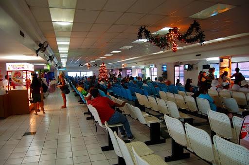 セブ・埠頭 スーパーキャット・待合所です
