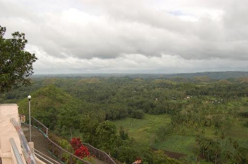 ボホール島・チョコレートヒル ※展望台からの眺め