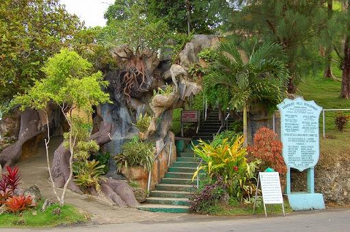 ボホール島・チョコレートヒル ※展望台に登る階段入口