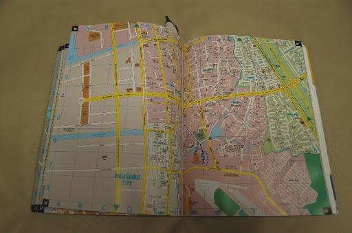 メトロマニラの地図帳 (パサイ周辺の地図)CITIATLAS METRO MANILA