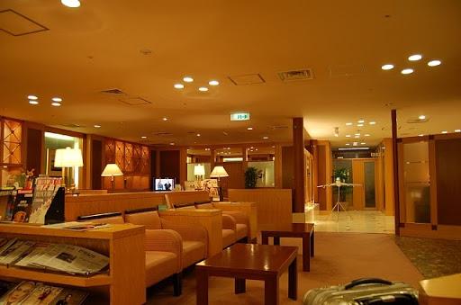 関西国際空港の大韓航空(KAL)のラウンジの様子(2)