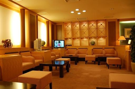 関西国際空港の大韓航空(KAL)のラウンジの様子(3)