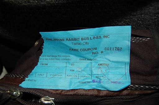 チケット売り場で買ったクーポン券(実際にはこのクーポンと乗車券を交換します)