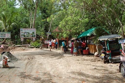 フィリピンはサマル島の滝(1)