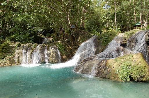 フィリピンはサマル島の滝(5)