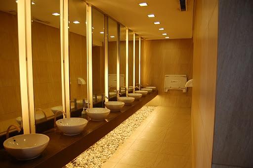 パーキングのトイレの洗面所