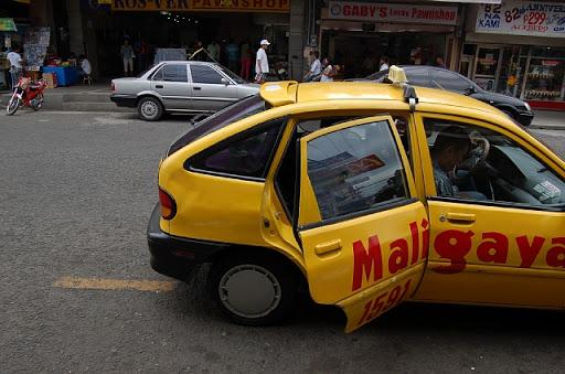 クロコダイル・パーク - ダバオの小型タクシー