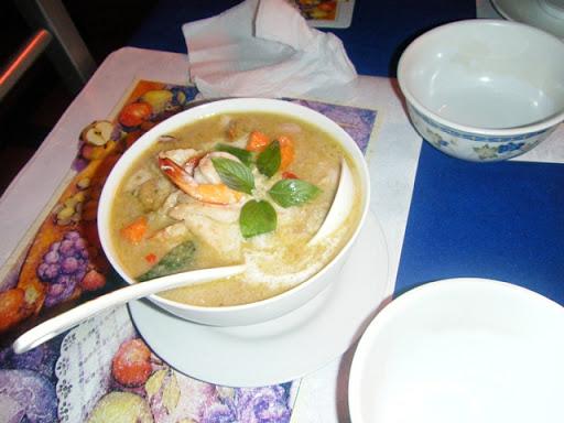 タイバーツレストラン - グリーンカレー(Green Curry:P170-P200)