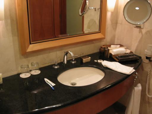パンパシフィックホテル - 洗面台