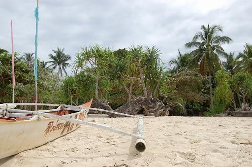 ホンダベイアイランドホッピング - 砂浜をパシャリ