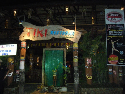 TIKI REST BAR 入り口 - プエルトプリンセサ パラワン