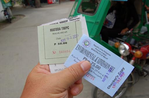 トライ+環境税&入島料+バンカーのチケット