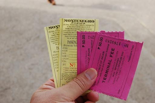 ターミナルフィー他のチケット
