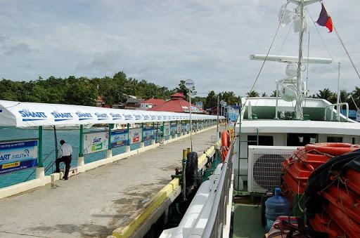 ボラカイ側の桟橋