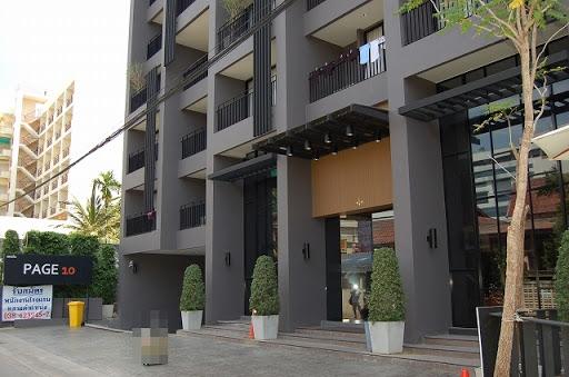 ページ10パタヤ - ホテル外観