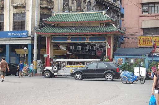 チャイナタウンの親善門
