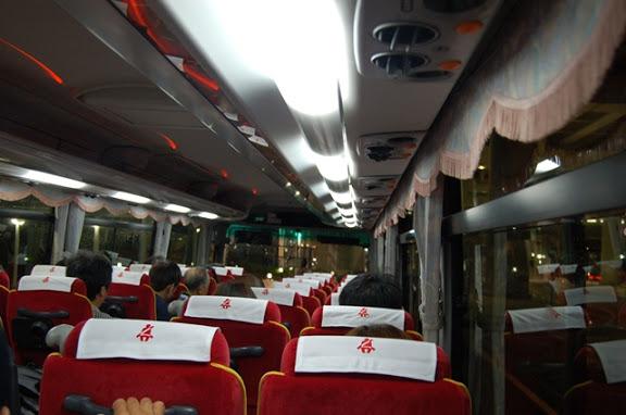 バス車内の様子