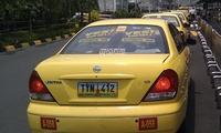 manila yellow taxi