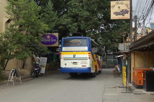 サザンクロスシャトルバス - 出発
