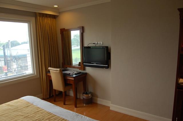 サバンナリゾート - ベットと部屋の様子(2)