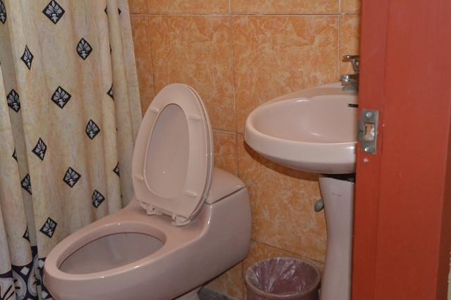 フェニックスホテル - デラックスルーム トイレと洗面
