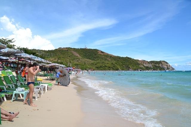 セームビーチ - ビーチ左側