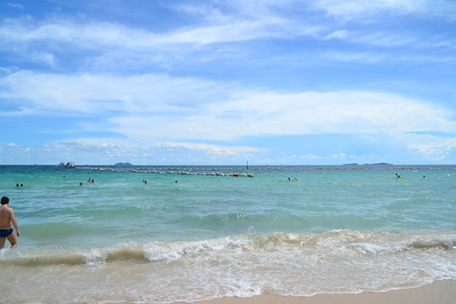 セームビーチ - ビーチの沖の方