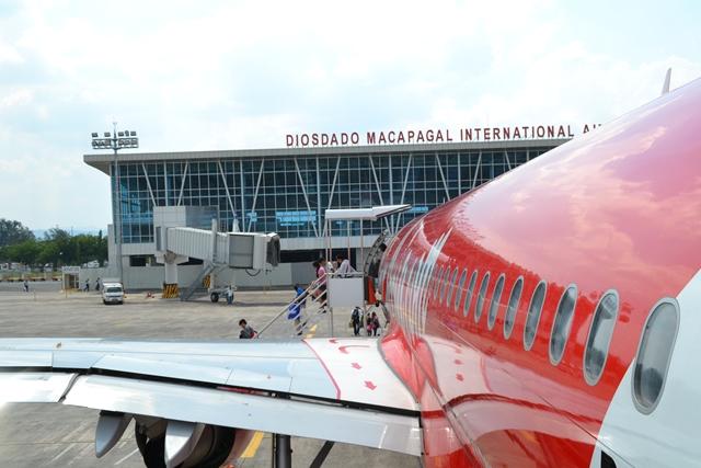 エアーアジア搭乗 - クラーク国際空港