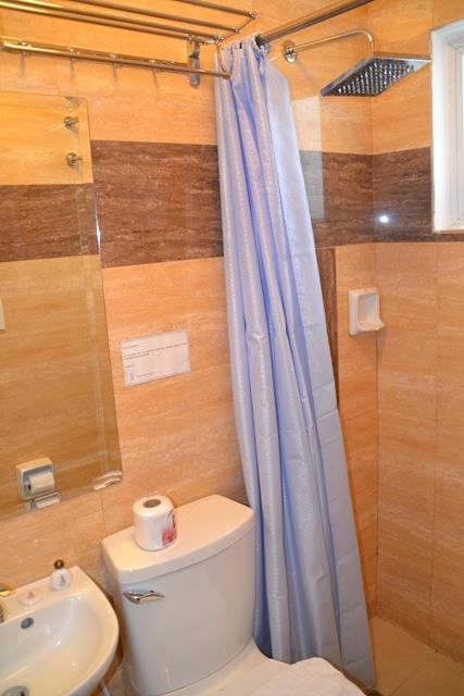 デベラホテルのトイレやシャワー