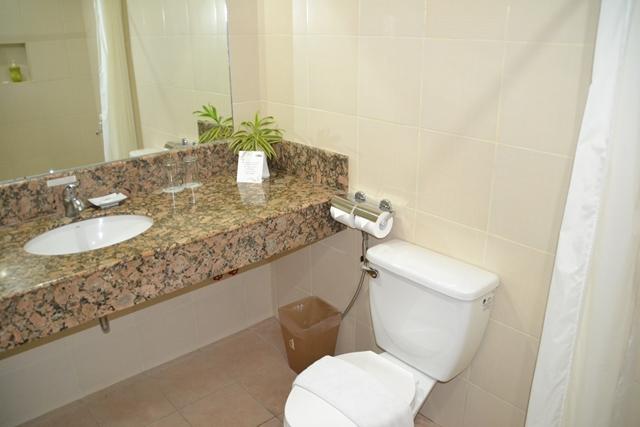 HOTEL Tropika - トイレ&洗面