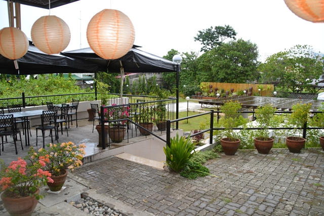 HOTEL Tropika - 屋外レストランから見た景色
