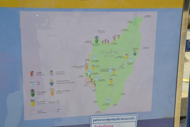 ラン島でレンタルバイク - どっかで見かけたマップ
