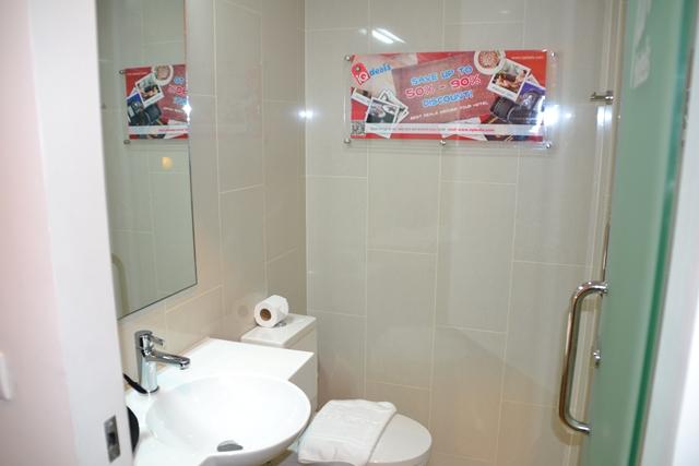 TUNE HOTEL - トイレ